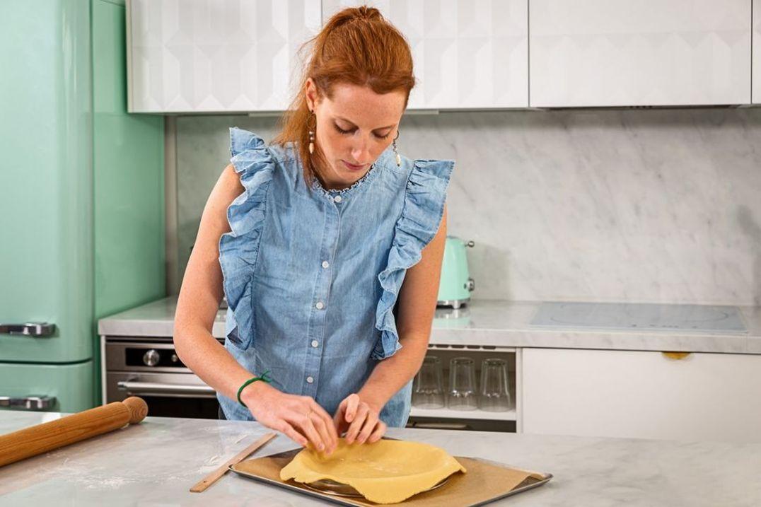 Anne-Sophie Cooking; Worktops & Splashback, Neolith Blanco Carrara BC02 Polished 11