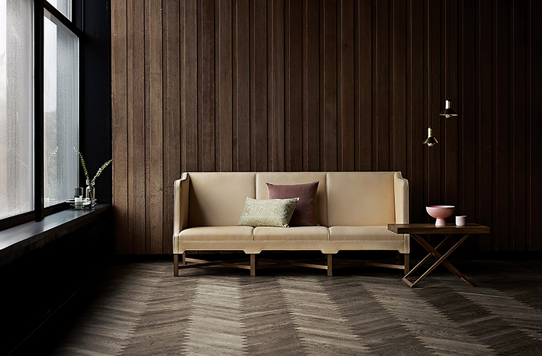 Kaare Klint Sofa by Carl Hansen; available from Domum