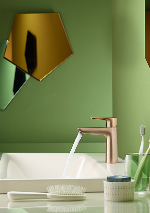 hansgrohe FinishPlus showcases faucets to perfection_Green