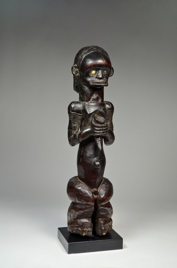 David Malik Fang Reliquary figure 'Bieri' Gabon Wood Early 20th Century Collected before World War II £12,000 Provenance: - Private collection, Paris, France