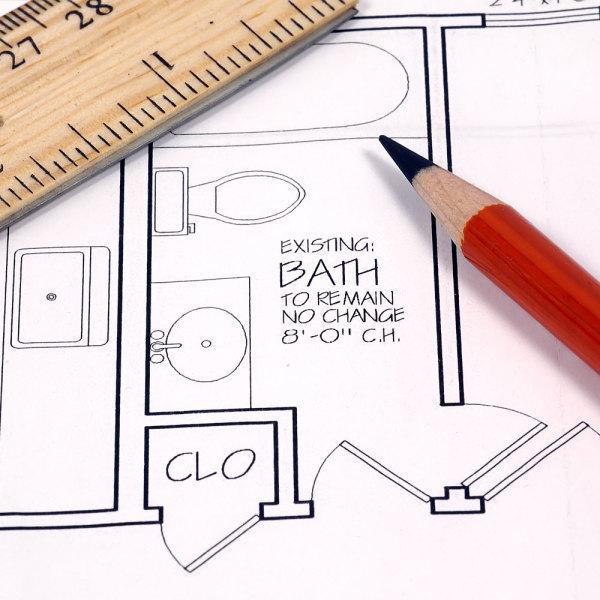 plan salle de bains idees pour 3m