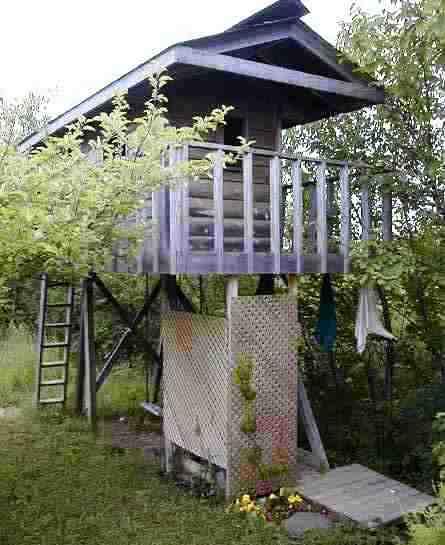 Construire Une Douche De Jardin Solaire