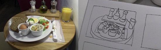 apprendre à dessiner les contours