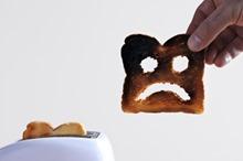 Toast triste