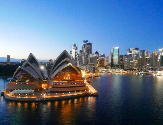 Sydney Opera house by Gunnar Habitz
