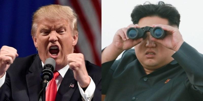Trump and Kim Jung-eun