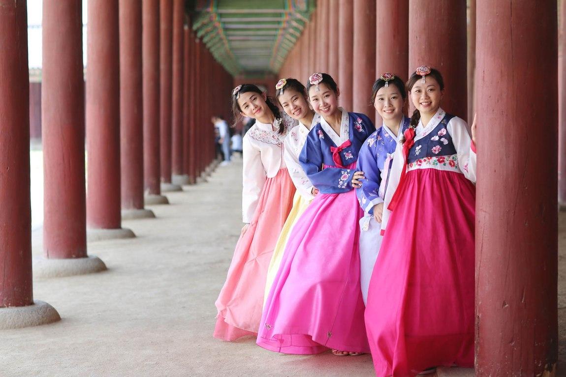 Hanbok photoshoot