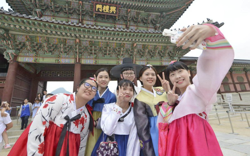 Foreign tourists to Korea grows in March