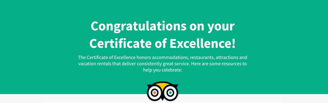 HaB Korea earned a Certificate of Excellence 2018
