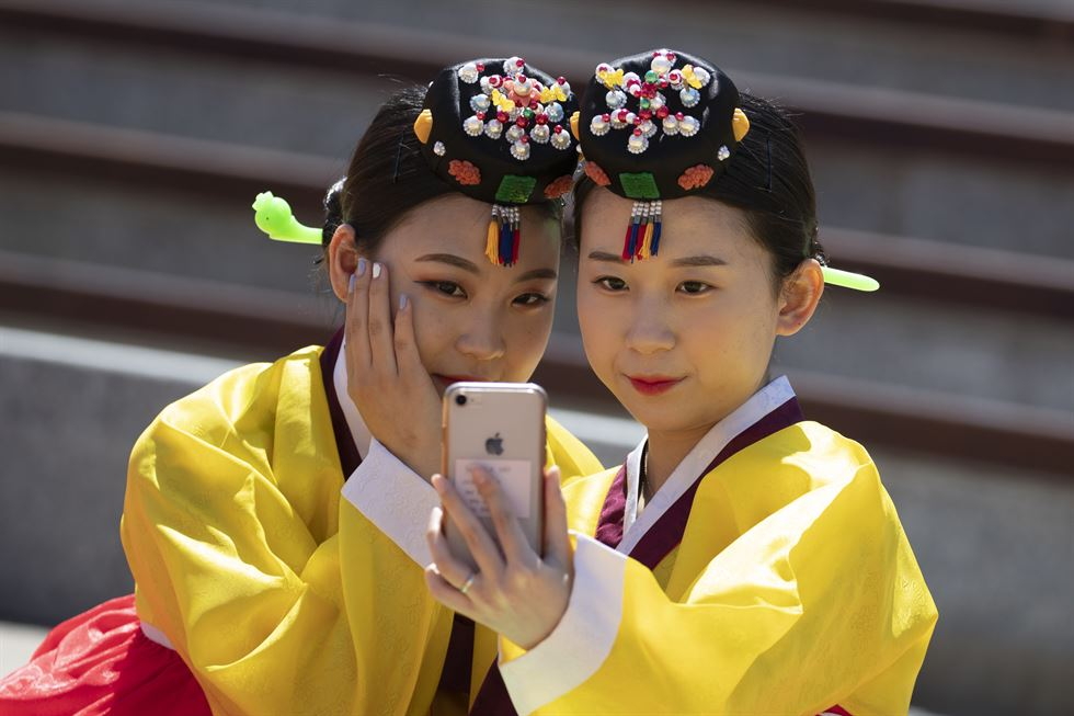 Korean traditional coming-of-age ceremony