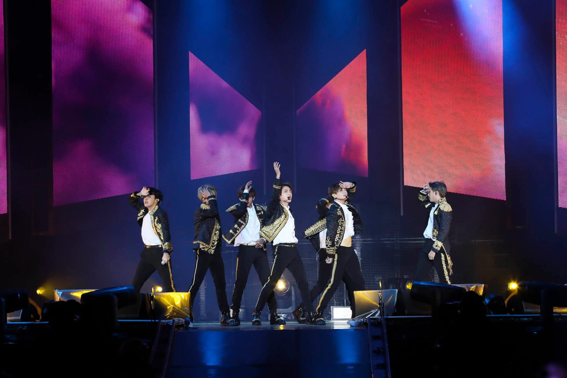 BTS hit London's O2 Area