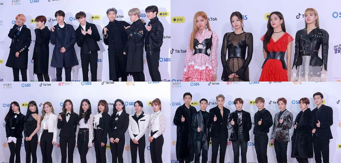 BTS' ARMY vs EXO's EXO-L at the 2018 SBS Gayo Daejun