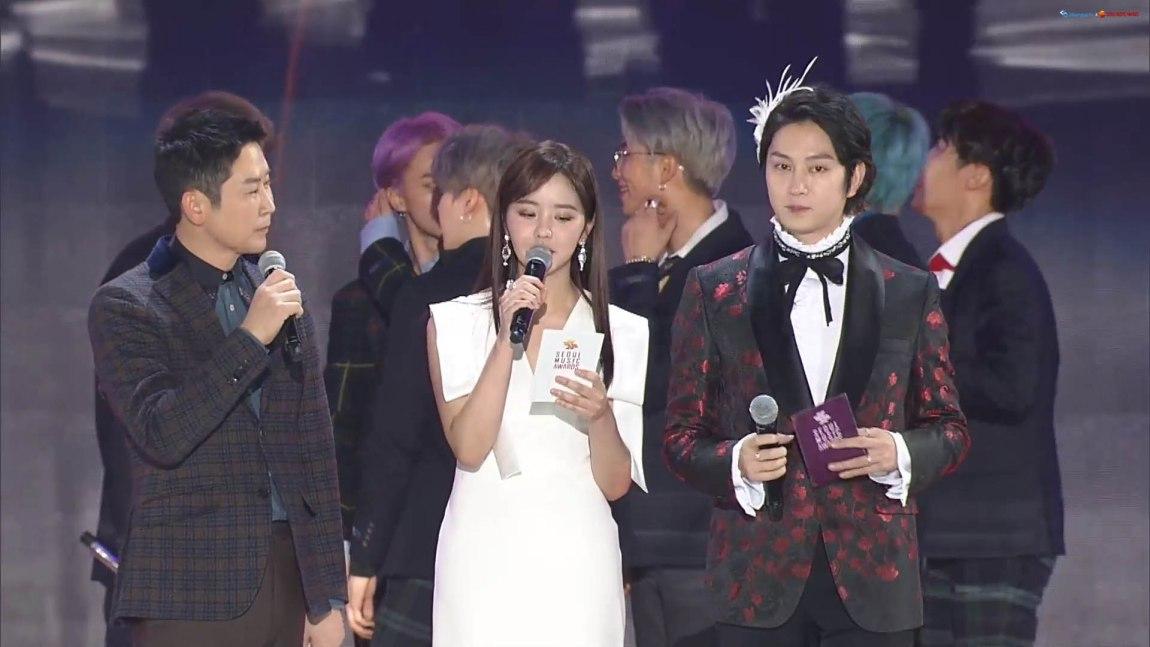 BTS won the Daesang at the 28th Seoul Music Awards 2019