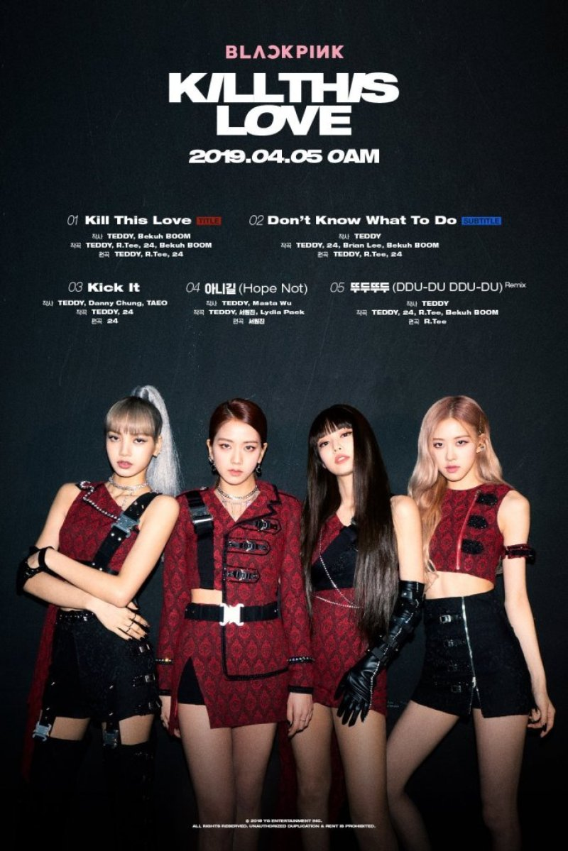 """HAIL TO THE QUEENS! BLACKPINK IS BACK IN YOUR AREA WITH """"KILL THIS LOVE"""""""