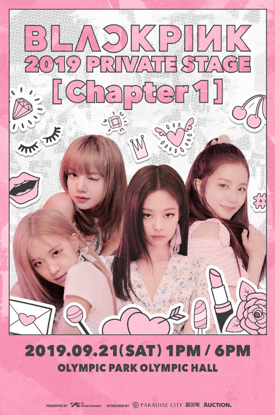 BLACKPINK 2019 PRIVATE STAGE [Chapter 1] will be held on Sep. 21