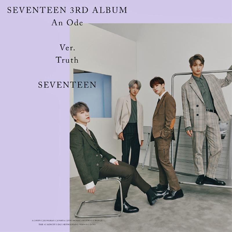 Seventeen reveals more Truth version concept photos for