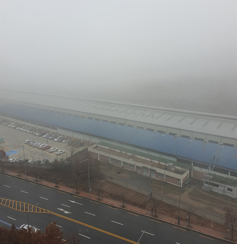 airpollution in Seoul