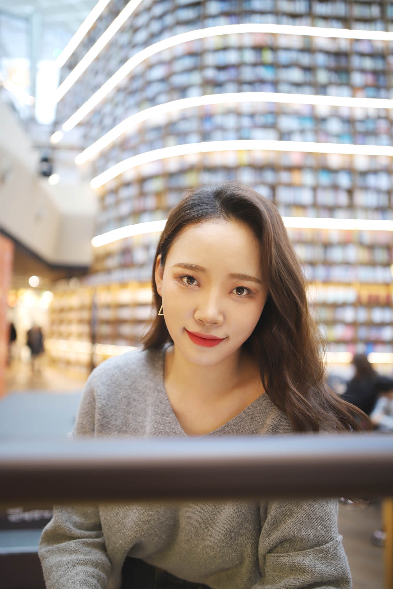 COEX starfield library photoshoot