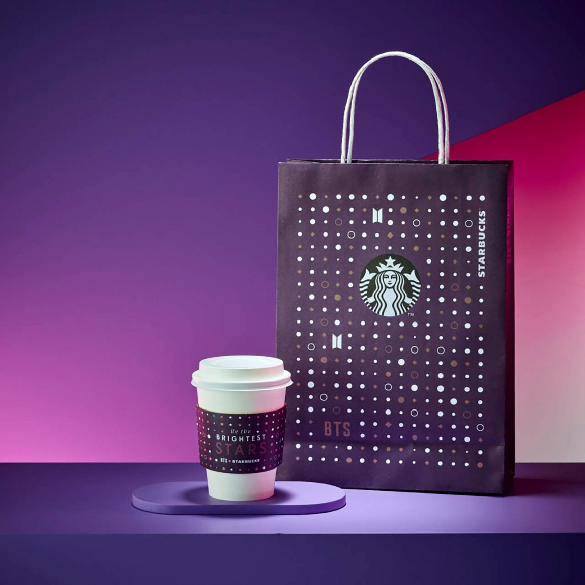 Collaboration of Starbucks Coffee Korea and BTS