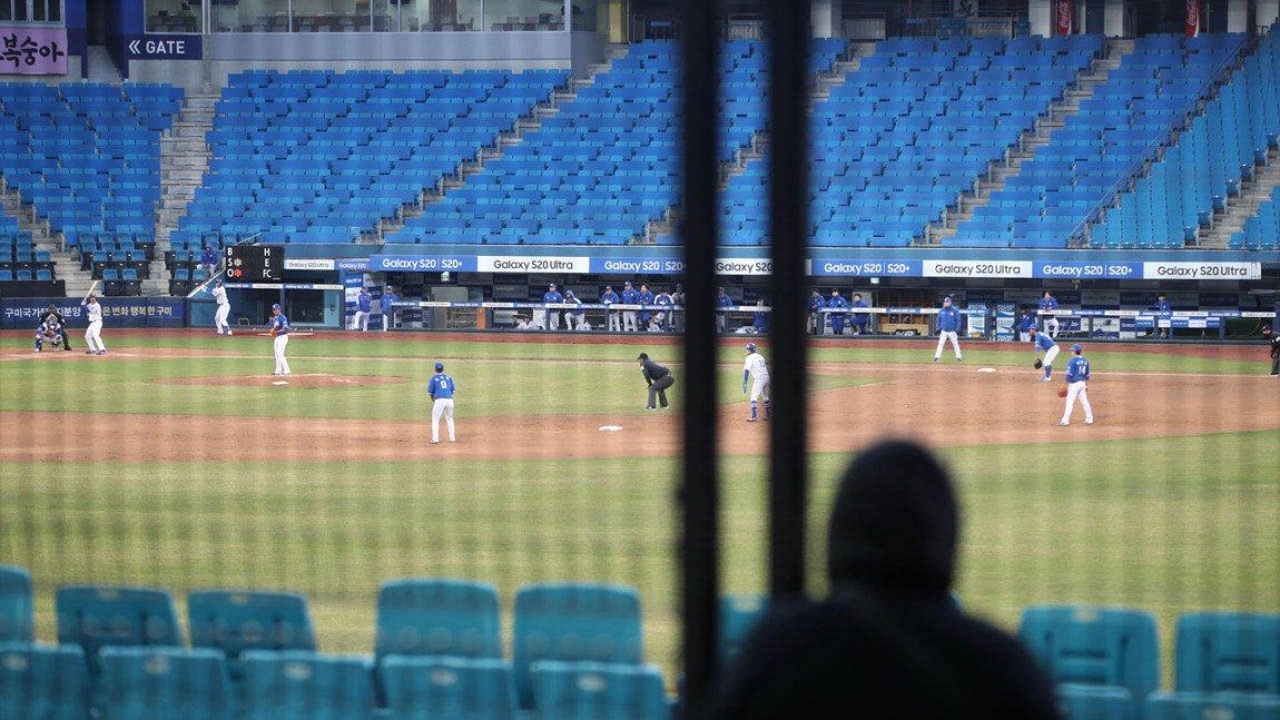 Baseball will be back in South Korea on May 5