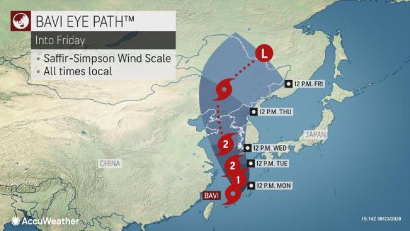 Typhoon Bavi to hit Seoul metropolitan area Thursday