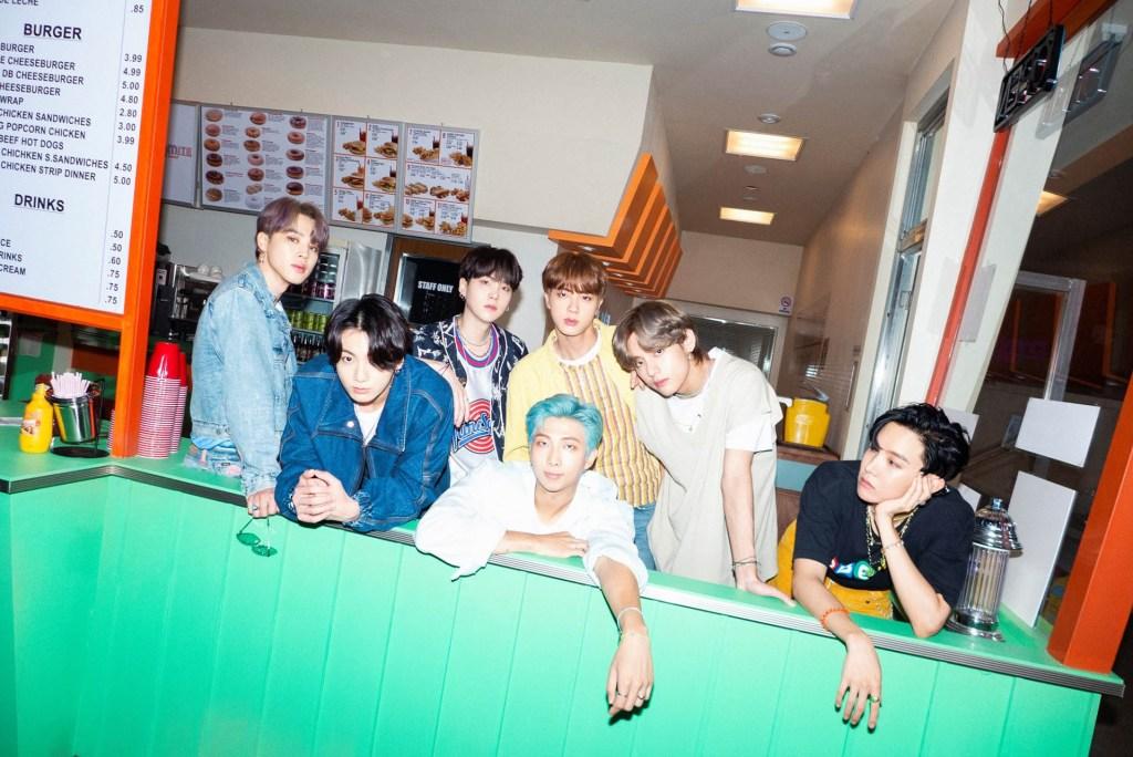 BTS Dynamite photo
