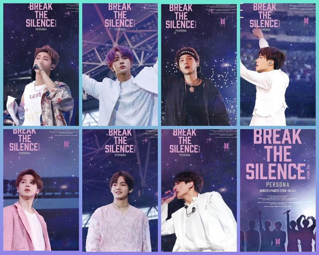 BTS Break the Silence member poster