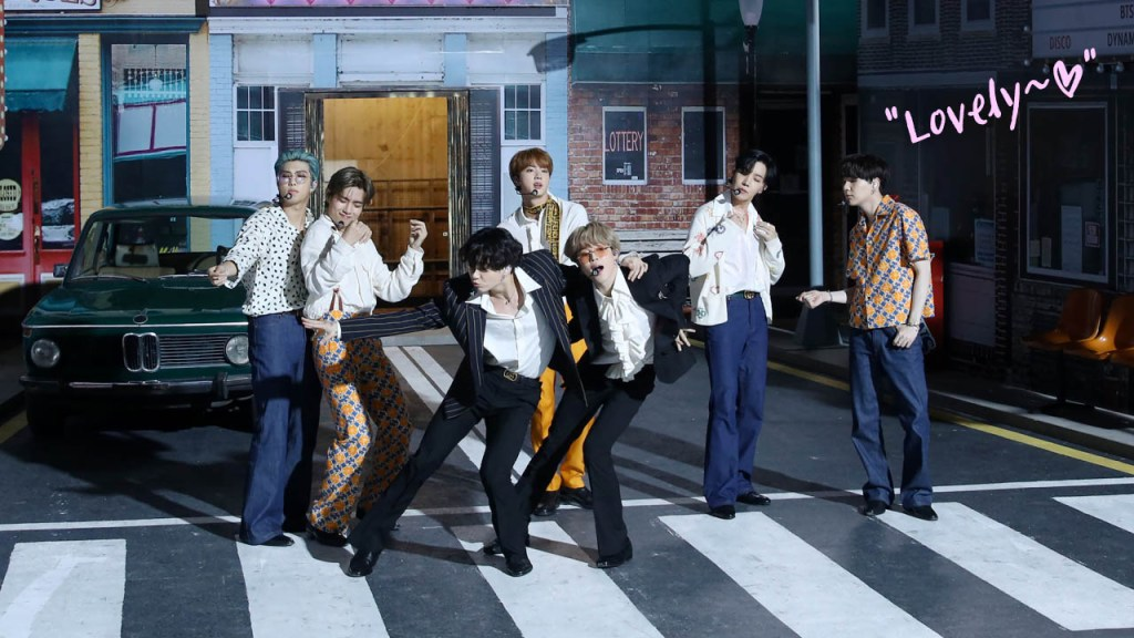 K-pop superstar BTS performs at iHeartRadio Music Festival