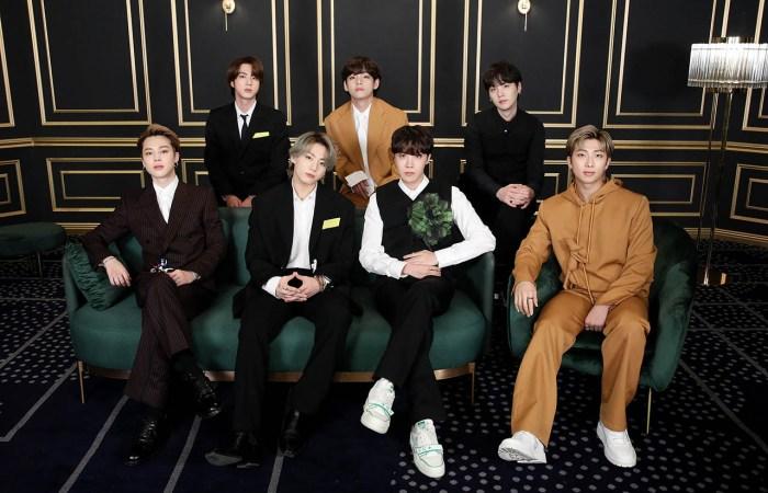BTS Grammy 2021