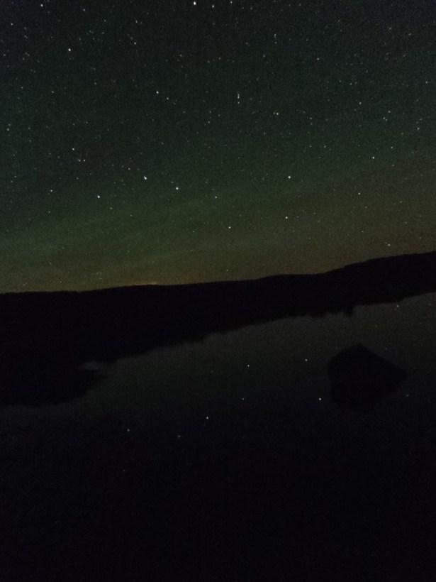 El Carro de la Osa Mayor reflejado en la laguna de las Tablillas. ¡Qué bonito es el cielo de Trevinca!