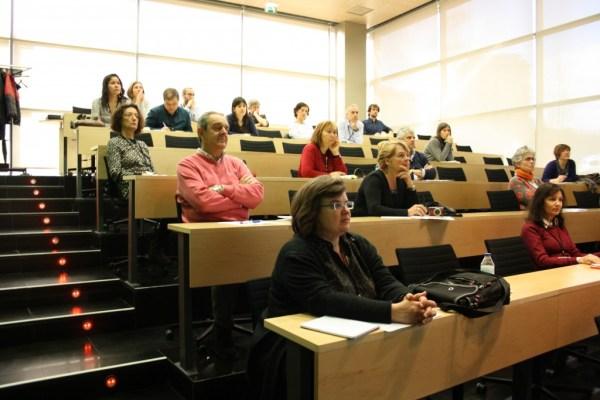 Público asistente al encuentro.