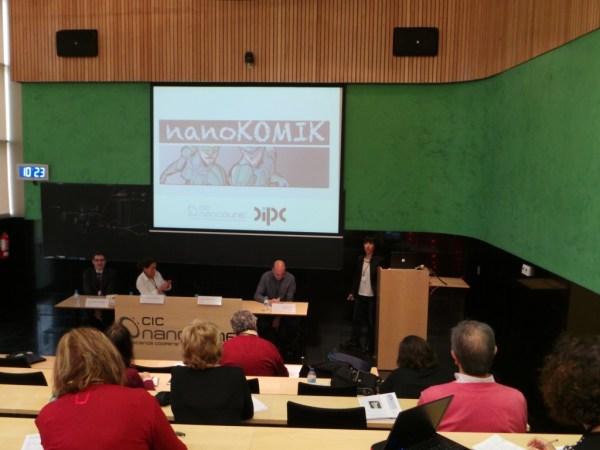 Presentación de proyecto NANOKOMIK.