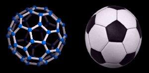 fullereno y balon