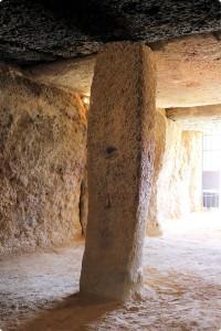 Detalle pilar central