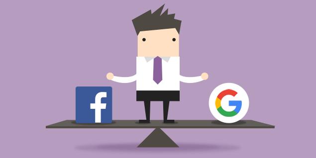 Google genera más trafico que Facebook