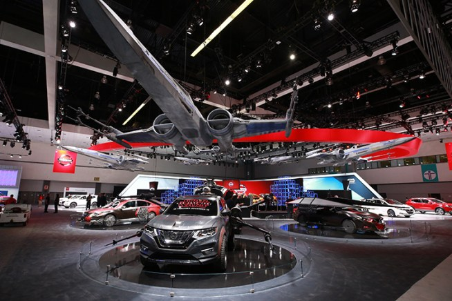 Nissan Debuts New Crossover Utility And Interactive Star Wars Th