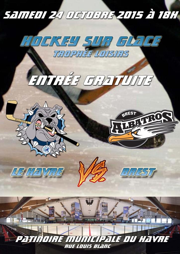 Affiche Bulldock's vs Brest