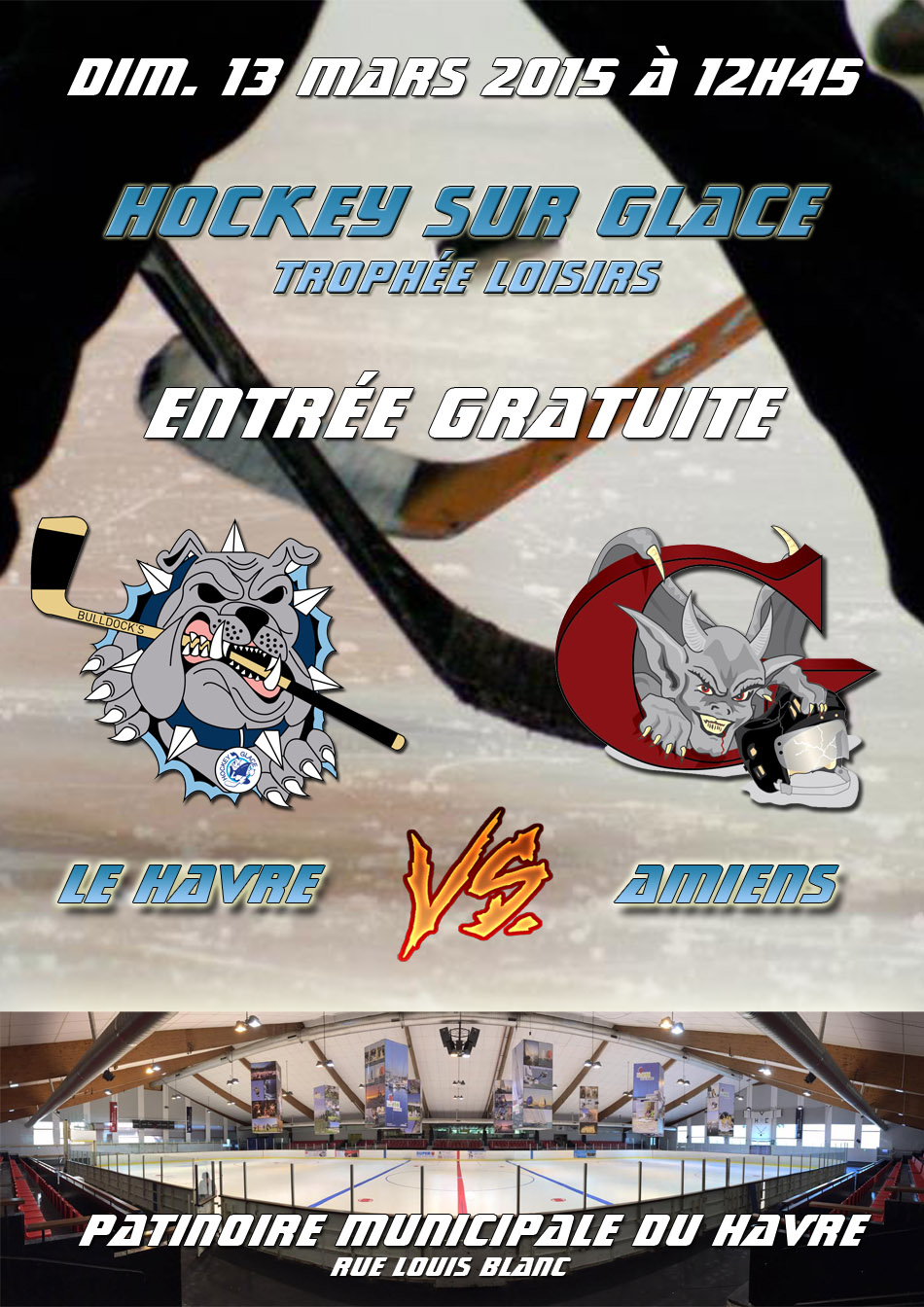 Bulldock's vs Amiens
