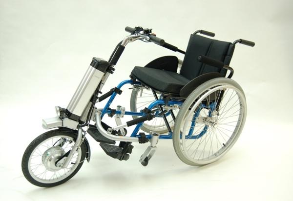 le firefly ou 5eme roue pour fauteuil roulant