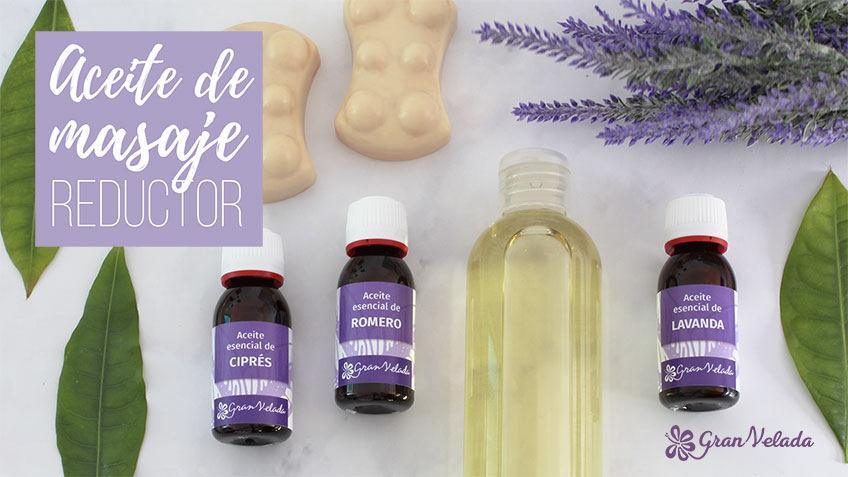 Aceite de masaje reductor