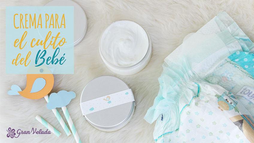 Crema para el culito del bebe