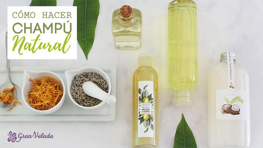 Aprende como hacer champu natural