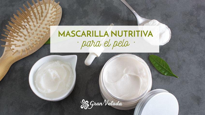 Aprende como hacer mascarilla nutritiva para el pelo en casa