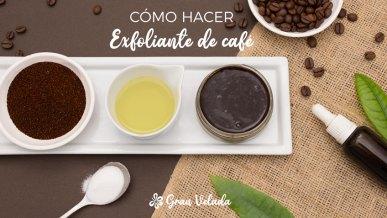 Exfoliante con cafe casero
