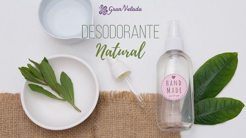Desodorante natural con piedra de alumbre