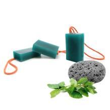 Jabón exfoliante para pies de piedra pómez con aceites esenciales