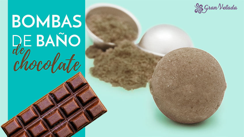 Aprende a hacer bombas de ba o de chocolate caseras - Moldes bombas de bano ...