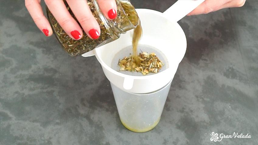 Aceite hiperico casero