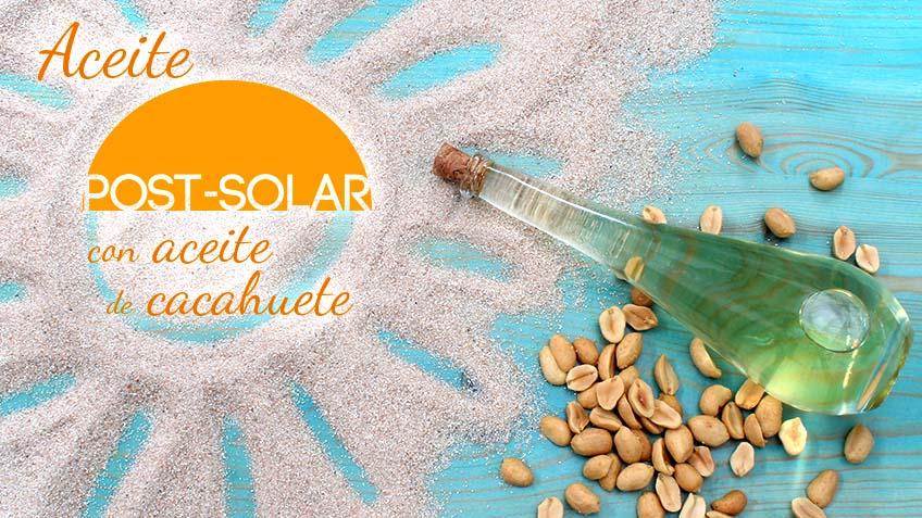 Hacer aceite reparador post solar