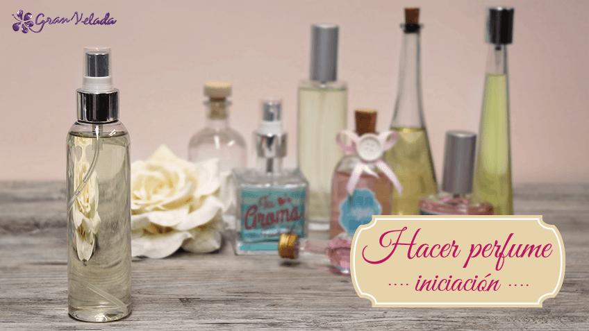 como hacer perfume Iniciación